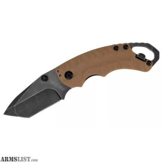 For Sale: KERSHAW Shuffle II FDE 8Cr13MoV Steel Overall 6.25 Closed 4 3 oz. 8750TTANBW