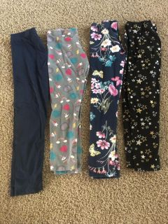 Girls leggings size 10/12. Excellent condition! They re all full size leggings, the picture makes some look shorter. $3 each.