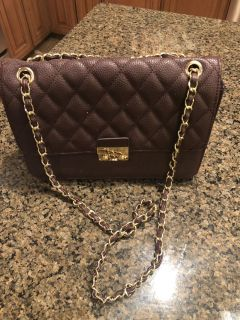Maroon Leather Purse. Brand New Never Used.
