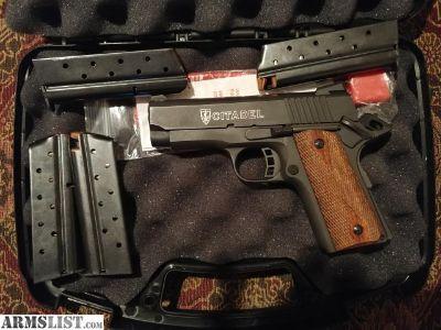 For Sale/Trade: Citadel 1911 9mm 500 OBO