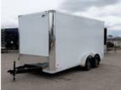 2019 RC Trailers 7x16TA Enclosed 7' Int Cargo - White