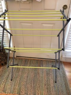 Foldable Laundry Drying Rack $10