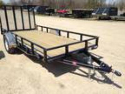 2018 PJ Trailers 72 in. Single Axle Channel Utility (U2)