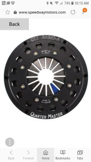 New 3 disc Quarter Master