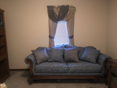 Loveseat and matching chairs