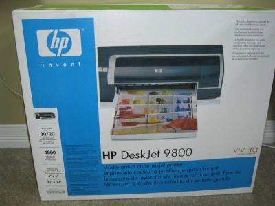 Deskjet 9800 Wide Format Color Printer