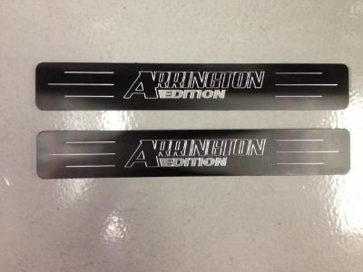 Sell Arrington Performance Rear Door Sill Plates motorcycle in Martinsville, Virginia, US, for US $90.00