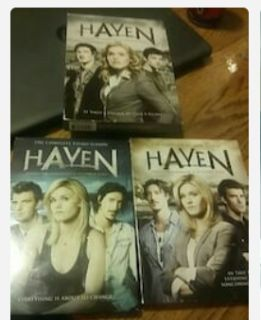 1-3 seasons of haven