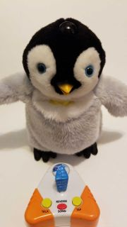 Happy Feet 10 Mumble Penguin With Remote Warner Bros. Thinkway Toys