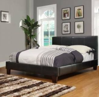 $299, Platform Bed King Size with a New Mattress