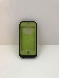 Green Lifeproof case for iPhone 5/5s/SE