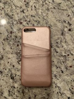 iPhone 8 Plus phone case with card slots