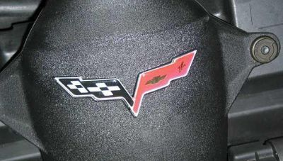 Purchase C6 Corvette Domed Air Bridge Decal 05-12 Raised Insert for Air Intake System motorcycle in Tampa, Florida, US, for US $39.99