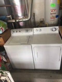 GE he washer & dryer