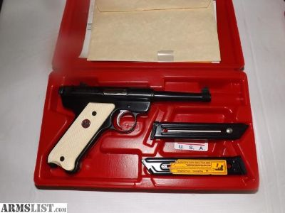 For Sale: ruger mark II