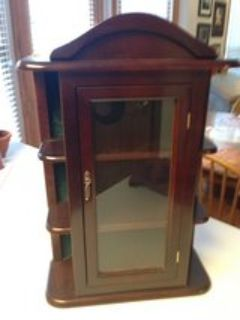 Wall/Table top Curio Cabinet