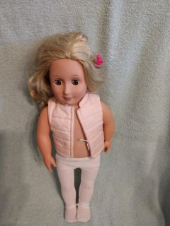 """$7 Our Generation doll 18"""""""
