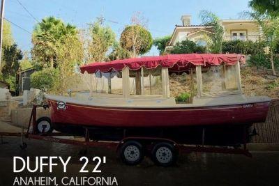 2007 Duffy 22 Cuddy Cabin