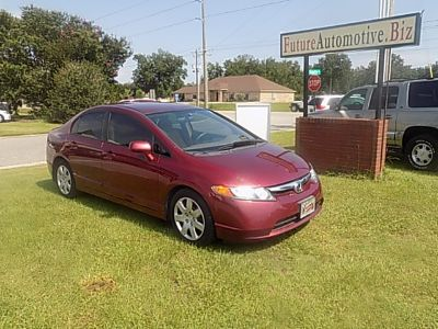 2007 Honda Civic LX (Red)