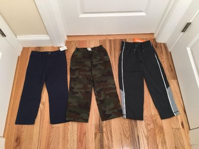 Carter s, Children s Place & Gymboree Pants Lot. Size 4/4t. All Brand New with Tags.