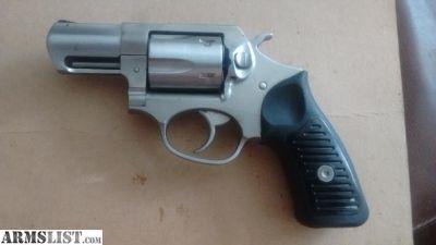 """For Sale: Like New Ruger 5 shot .357 Magnum snub 2"""" barrel"""