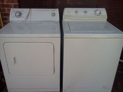 Maytag Washer & Admiral Dryer