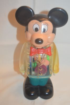 Vintage Mickey Mouse Wind up Toy