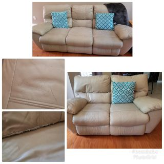 Recliners for all! Still has a lot of use left. Read description