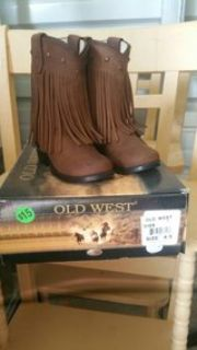 old west girl boots