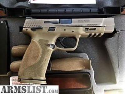 For Sale: Smith & Wesson M&P M2.0 9mm FDE - LNIB