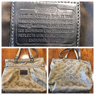 Authentic Large Coach Bag II