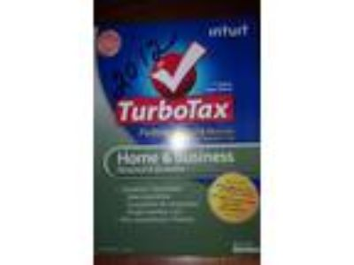 Turbotax 2012 Home & Business w/ state. preowned