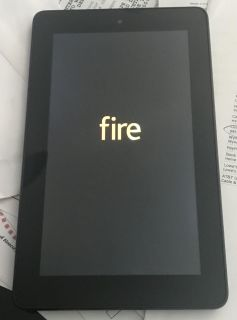 Brand New (box available) Kindle Fire 5th Edition (includes block/brick not shown), FREE new cover if you want it. Only $42!