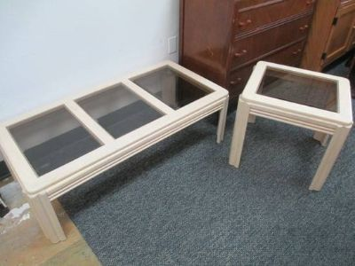 Nice Coffee Table and Matching End Table - Delivery Available