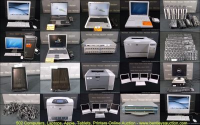 Online Auction-Computers, Laptops, Apple, Tablets & Printers