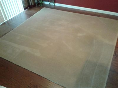 2 Used quality beige carpets
