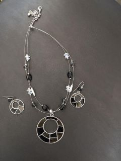 Silver, black and Gray set