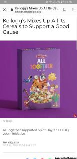 Kelloggs all together cereal