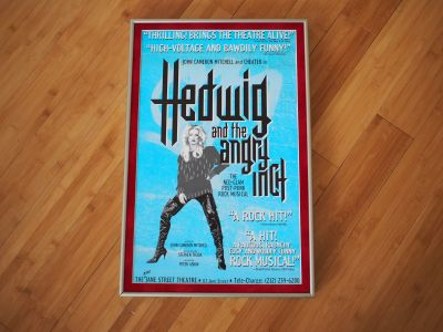 Hedwig & Angry Inch 1998 Off Broadway NYC Poster