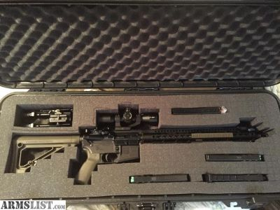 For Sale: Custom Diamondback AR-15 Package 5.56/223 w/Bump Stock and many Extras