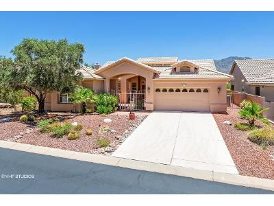 2 Bed 3 Bath Foreclosure Property in Tucson, AZ 85739 - S Canyon View Dr