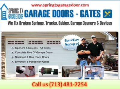 American Top Garage Door Repair Company in Spring, TX