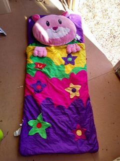 3 child size sleeping bags