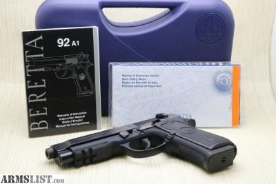 For Sale: BERETTA 92A1 MADE IN ITALY 1-17 ROUNDS MAGAZINE