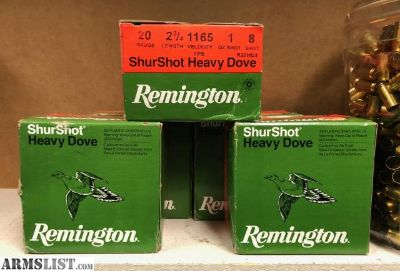 For Sale: 20 ga Remington shells