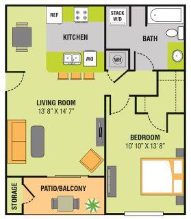 1 bedroom in Papillion