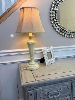 Pretty lamp and shade