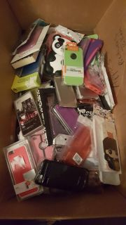 150 + Apple iPhone/iPod Skins Cases Lot