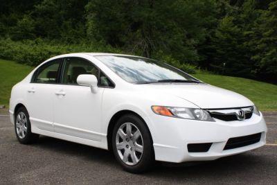 2008 Honda Civic LX (White)