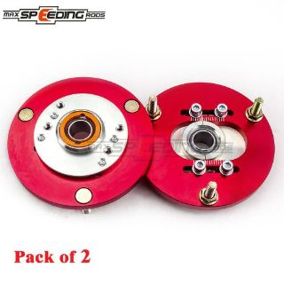Find Red Coilover Camber Plate Pair For BMW E36 3 Series 325is 325ic 328i 328is M3 M motorcycle in Rowland Heights, California, United States